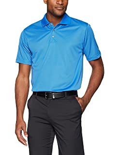 8fa7bc2b8 Men s Pebble Beach Golf Polo Shirt with Short Sleeve and Tonal Check  Textured Design
