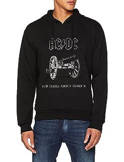 Desconocido AC/DC About To Rock, Sudadera con Capucha para Hombre