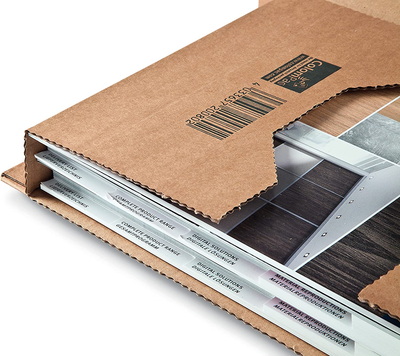 Columpac Jbox 67 380 x 285 x 80 mm Ambassador Mailing Box Pack of 20 Brown