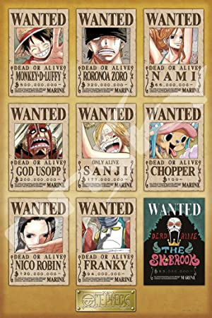 amazon 1000ピース ジグソーパズル one piece new wanted posters