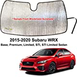 Custom Windshield Sun Shade 2015-2016 Impreza WRX STI sedan w//out sensor SU-38