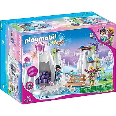PLAYMOBIL Crystal Diamond Hideout: Toys & Games