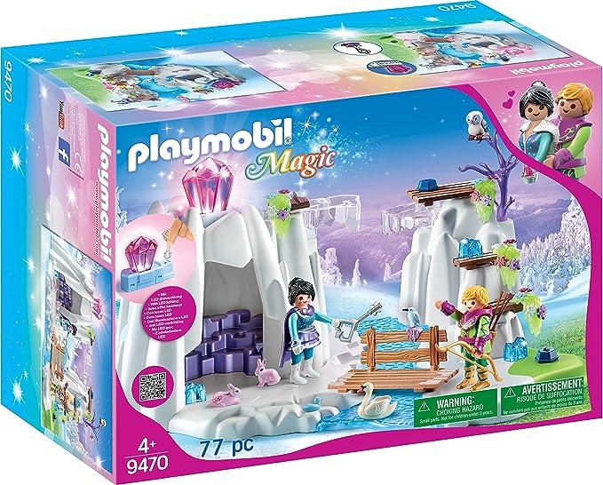 PLAYMOBIL Magic Búsqueda del Diamante de Cristal con Cristal luminoso, A partir de 4 años (9470): Amazon.es: Juguetes y juegos