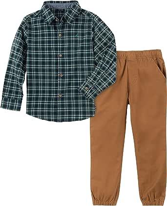 Nautica Baby-Boys 2 Pieces Shirt Pants Set Pants Set