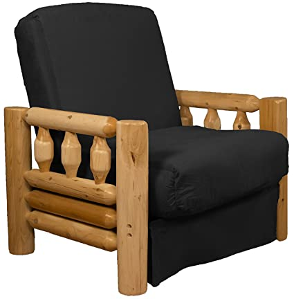 Terrific Rocky Mountain Perfect Sit Sleep Pocketed Coil Inner Spring Pillow Top Chair Sleeper Child Size Bed Chair Size Microfiber Suede Ebony Black Pabps2019 Chair Design Images Pabps2019Com