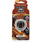 Yankee Candle Company 1312851Z Leather Car Vent Clip