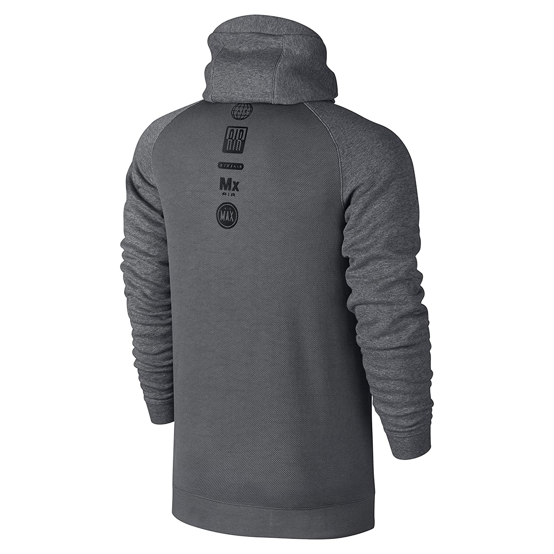Nike M Nsw Hoodie FZ MX Air HYB Sweatshirt Grau L