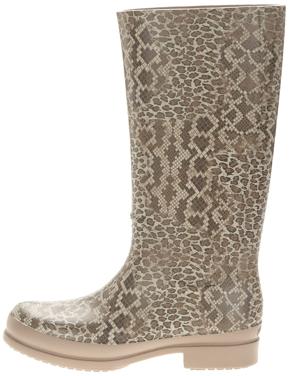 Crocs Leopard Print Tall Boot Damen 38EU