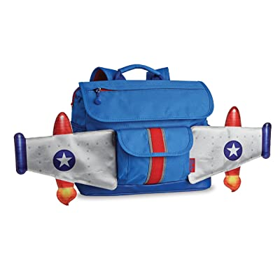 Bixbee Rocketflyer Small Backpack - Blue: Home & Kitchen