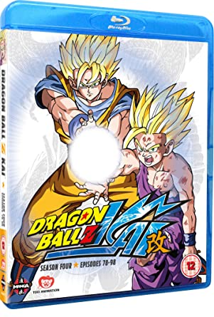 dragon ball z kai season 4 episodes 78 98 blu ray amazon co uk