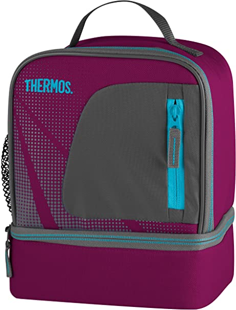 Thermos Radiance Dual Compartment Lunch Kit Navy