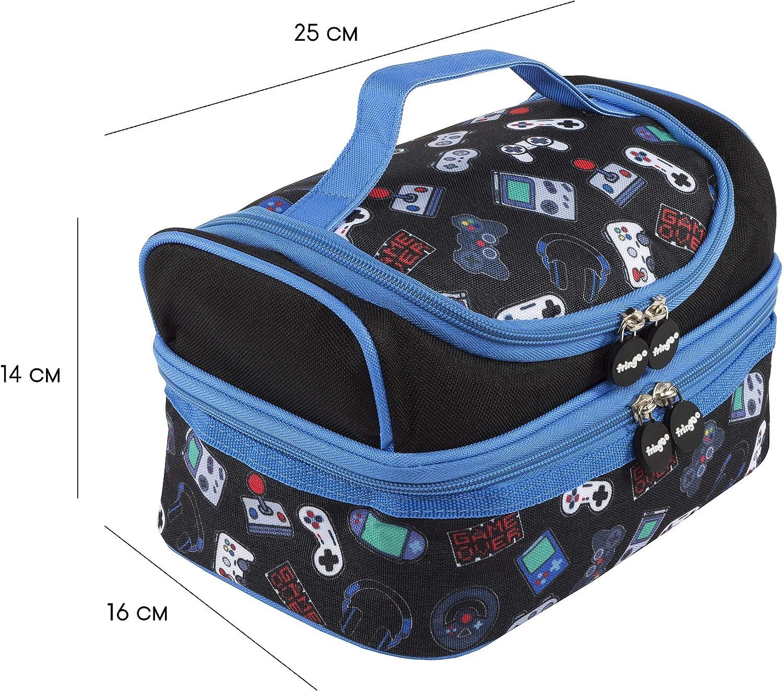 FRINGOO Borsa termica per bambini Lunch Box per bambini BorsaTermica Zainetto per bambini