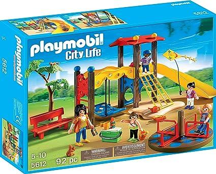 Amazon.com: Playmobil set de parque infantil.: Toys & Games