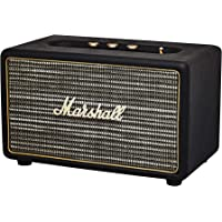 Marshall Acton Portable Bluetooth Speaker, The Small in Stature, Serious in Power Wireless Bluetooth Speaker, with Powerful and Customisable Sound, Black