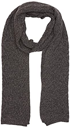 00b129f08600 UNITED COLORS OF BENETTON Scarf, Echarpe Homme, Gris (Grey Melange 7e4),