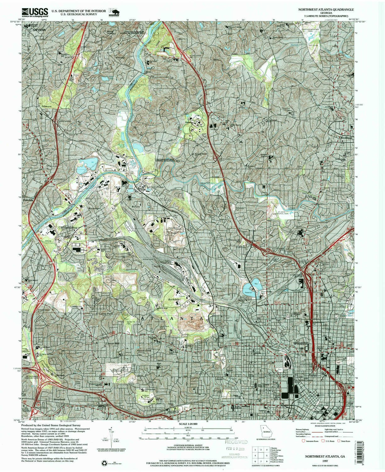 Amazoncom Yellowmaps Northwest Atlanta Ga Topo Map 124000 Scale - Atlanta-us-map