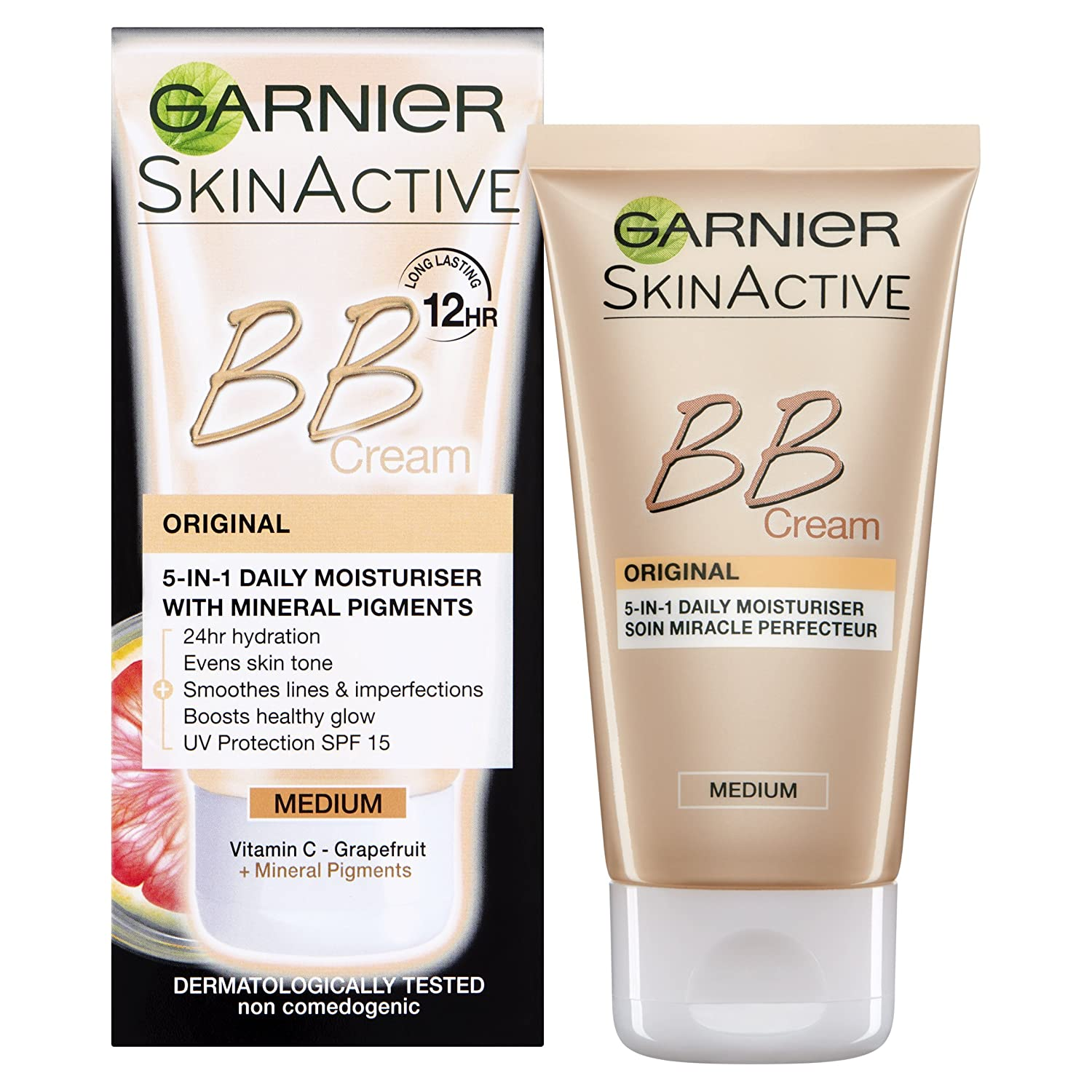 Garnier BB Cream Original Medium Tinted Moisturiser 50ml Garnier/Maybelline NY 3600541116313