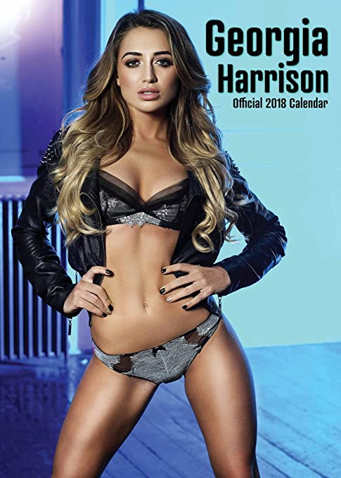 Gegia Calendario.Georgia Harrison Official Calendario 2018 Amazon It