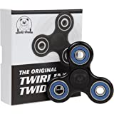 Black Blue Fidget Spinner Prime - Finger Fidget Spinner Toy for Kids Stress Relief - Best Fidget Toy for Autism & Anti Anxiety is Great for Boys & Girls -