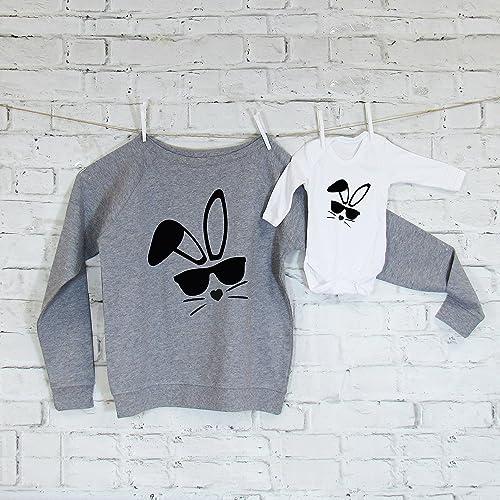 Easter sweatshirt set mum baby easter sweatshirt set easter gift easter sweatshirt set mum baby easter sweatshirt set easter gift new baby negle Gallery
