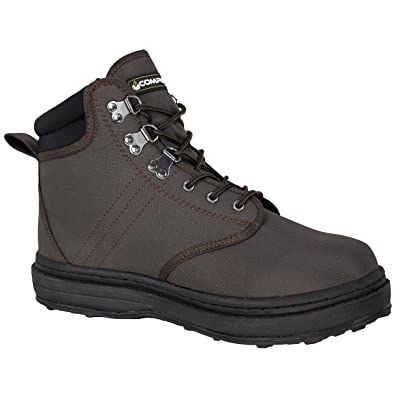 95482-PE Compass 360 Stillwater II Cleated Sole Wading Shoes, Size 9: Sports & Outdoors