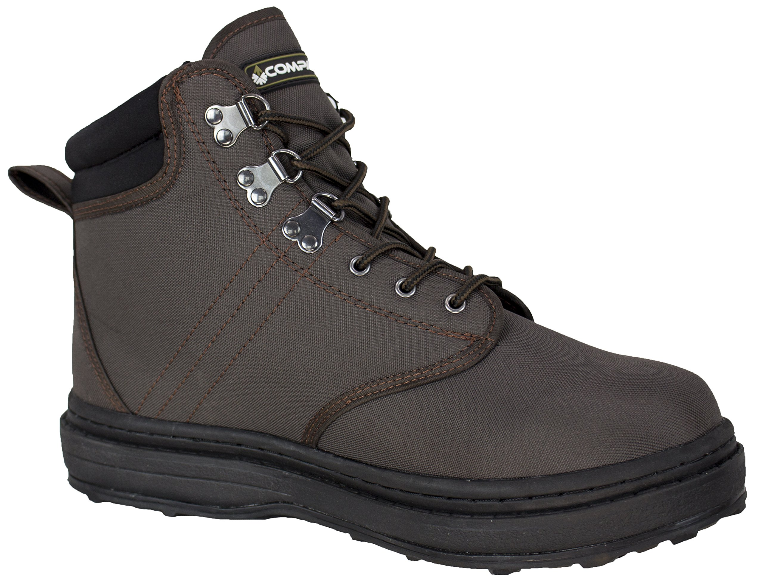 95480-PE Compass 360 Stillwater II Cleated Sole Wading Shoes, Size 7