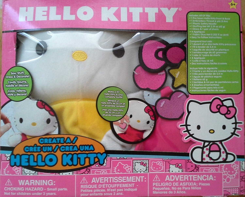 Sanrio Hello Kitty Create A Hello Kitty Sewing Kit