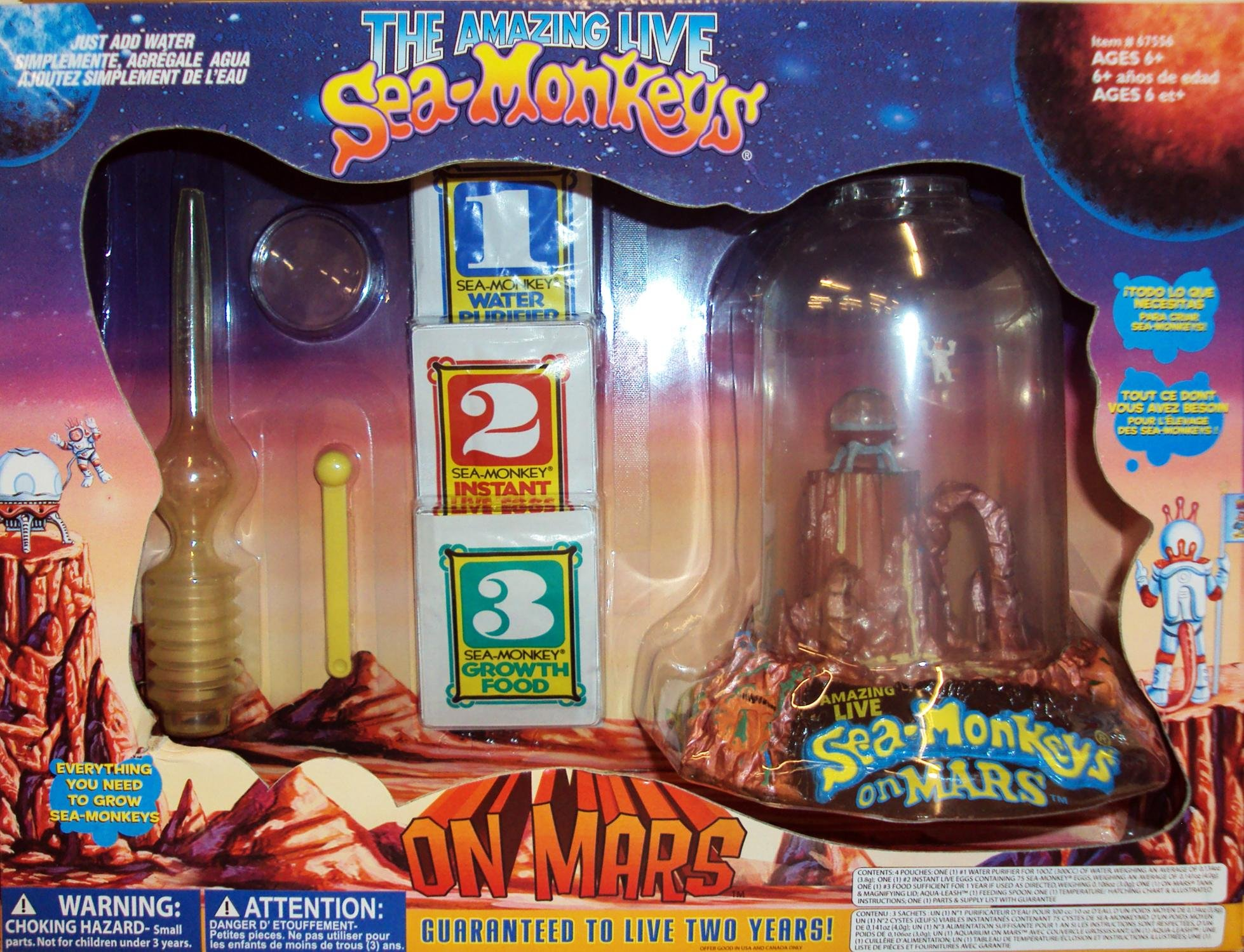 Big Time Toys Sea Monkeys On Mars Deluxe by Big Time Toys