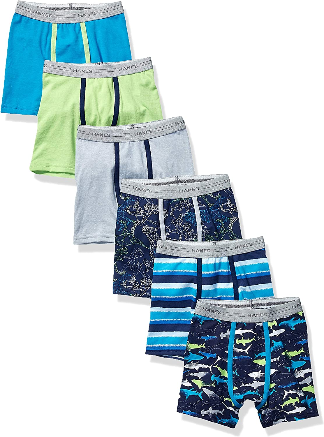 Hanes Boys' Toddler Boxer Brief