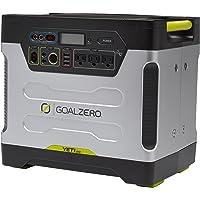 Goalzero 220v Solar Generator International Version Yeti 1250 mit Roll Cart, Silber, 23002