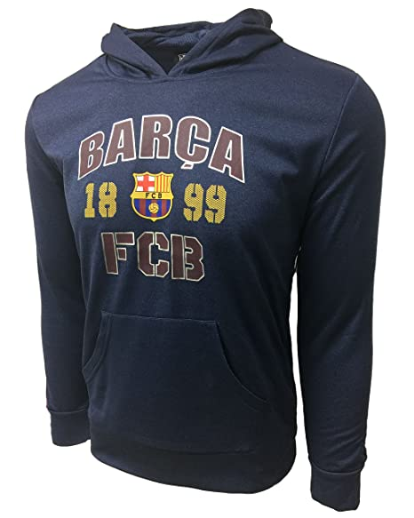 Amazon.com: HKY Sportswear inc FC Barcelona Hoodie, Barca ...