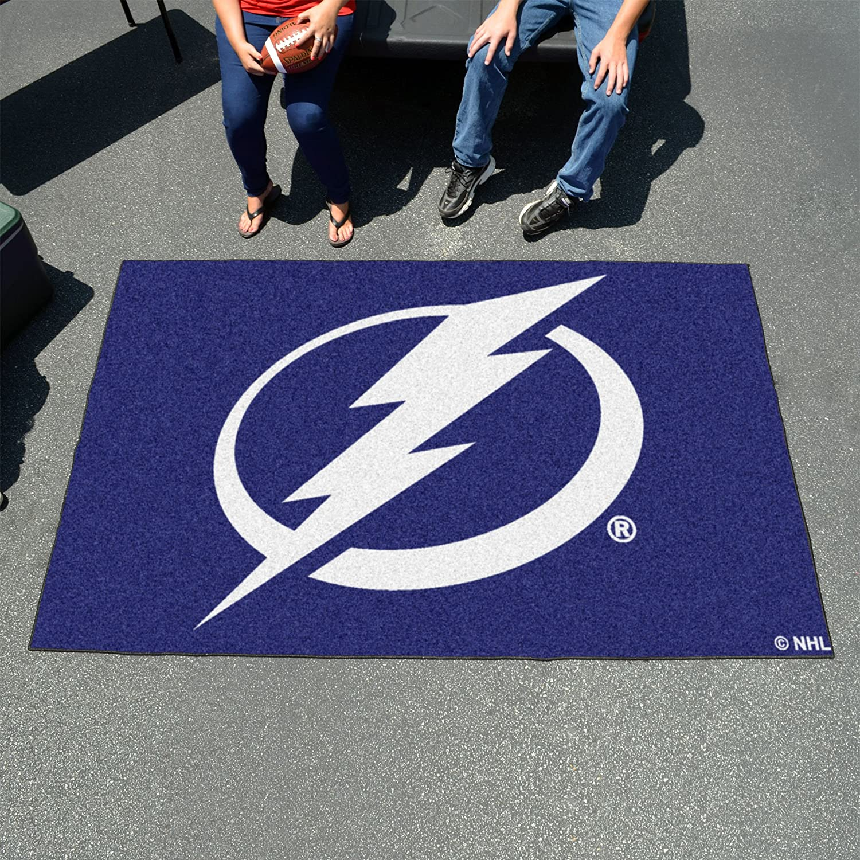 FANMATS NHL Tampa Bay Lightning Vinyl 2-Pack Utility Mats