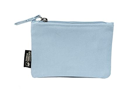 32a543b1c80f Amazon.com  Toprak Pouch. Small canvas purse with zipper for coins ...