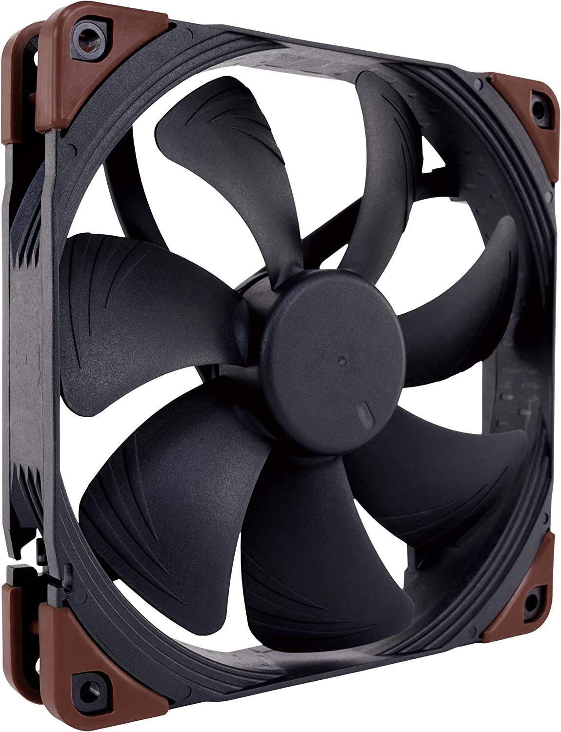 Noctua NF-A14 iPPC-2000, Heavy Duty Cooling Fan, 3-Pin, 2000 RPM (140mm, Black)