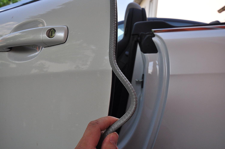 4 Meter T/ürkantenschutz Grau T/ürrammschutz Gummi passend f/ür Ihr Fahrzeug