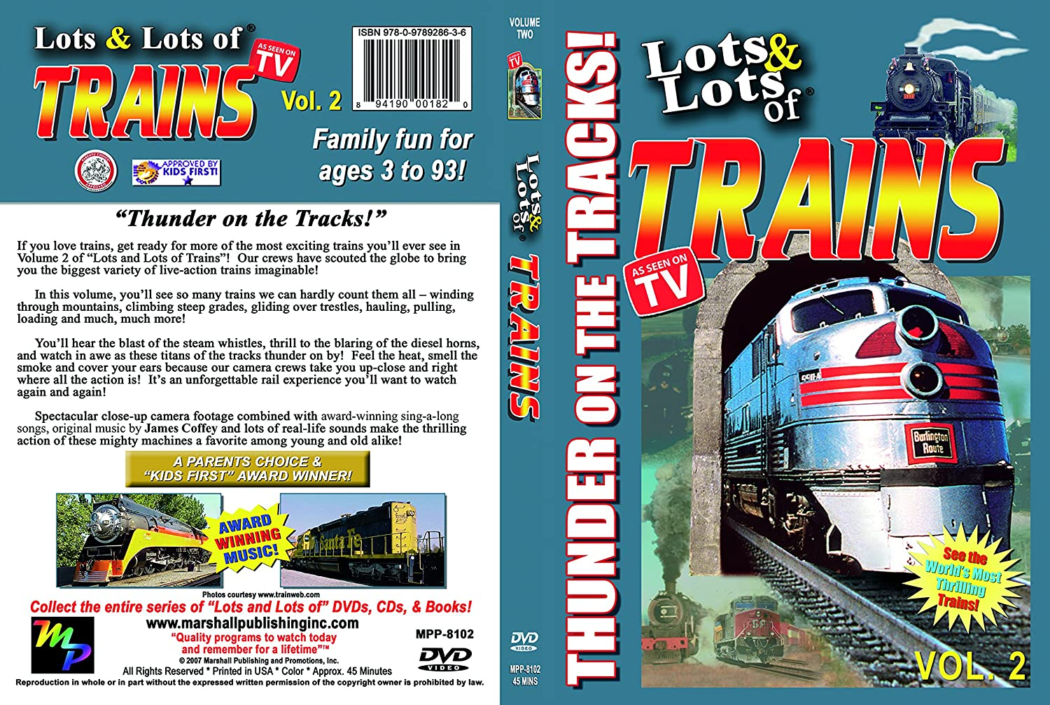 We Can Do Lots More For Students With >> Amazon Com Lots Lots Of Trains Volume 2 Thunder On The Tracks