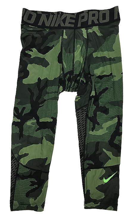 d726afda5 Amazon.com : Nike Pro Hypercool 3/4 Camo Compression Pants 848863 ...