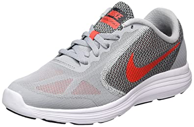 ad290bc3433 Image Unavailable. Image not available for. Colour  Nike Boys  Revolution 3  (gs) Competition Running Shoes ...