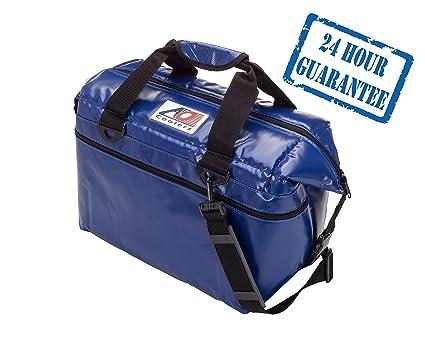 AO Coolers Resistente al Agua Vinilo Suave refrigerador con Aislamiento de Alta Densidad, 12-