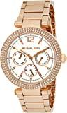 Michael Kors Women's Parker Rose Gold Tone Stainless Steel Watch MK5781