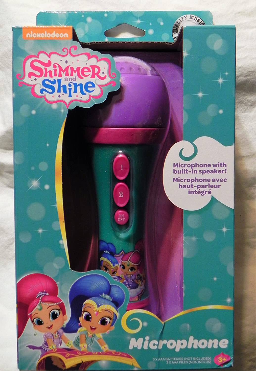 First Act Nickelodeon Shimmer and Shine Microphone First Act Inc.