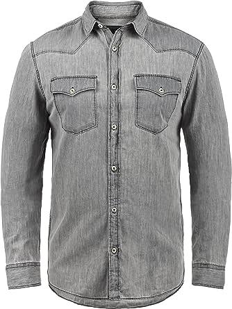 PRODUKT Paulus - Camisa de jeans para hombres