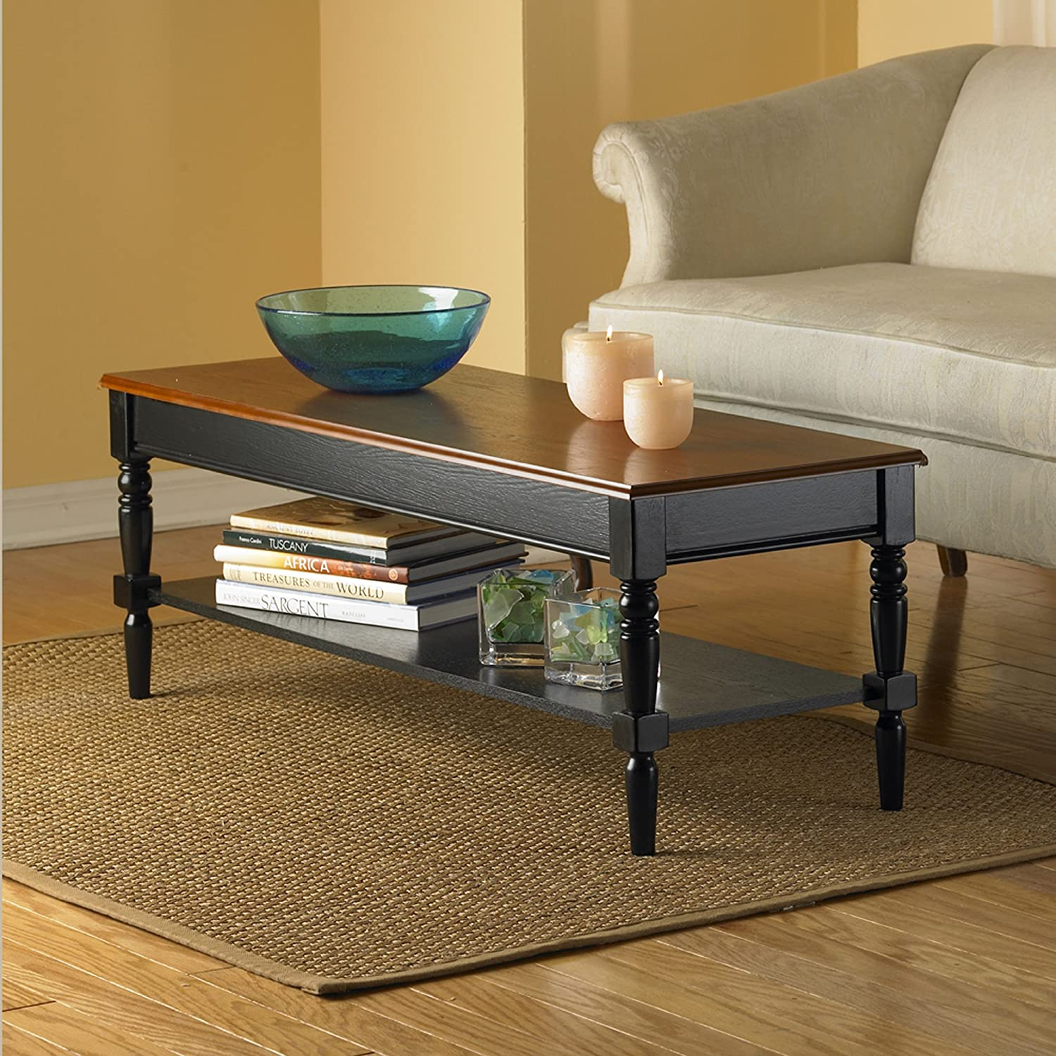 Amazon Convenience Concepts French Country Coffee Table with