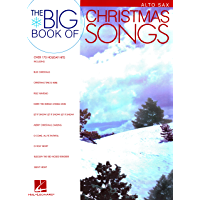 Big Book of Christmas Songs for Alto Sax book cover