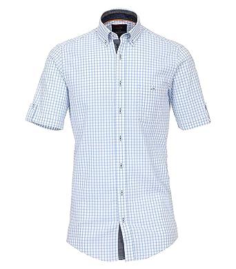 ff5c5dcfd1 Casa Moda - Casual Fit - Herren Freizeit 1/2-Arm-Hemd mit Button Down-Kragen  (982905500): Amazon.de: Bekleidung