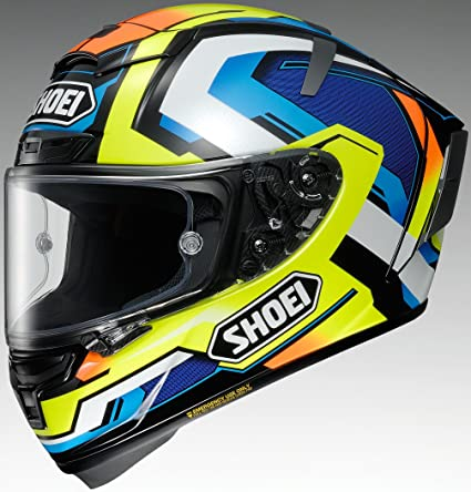 Shoei X-14 Brink Sports Bike Racing Motorcycle Helmet - TC-10/Medium