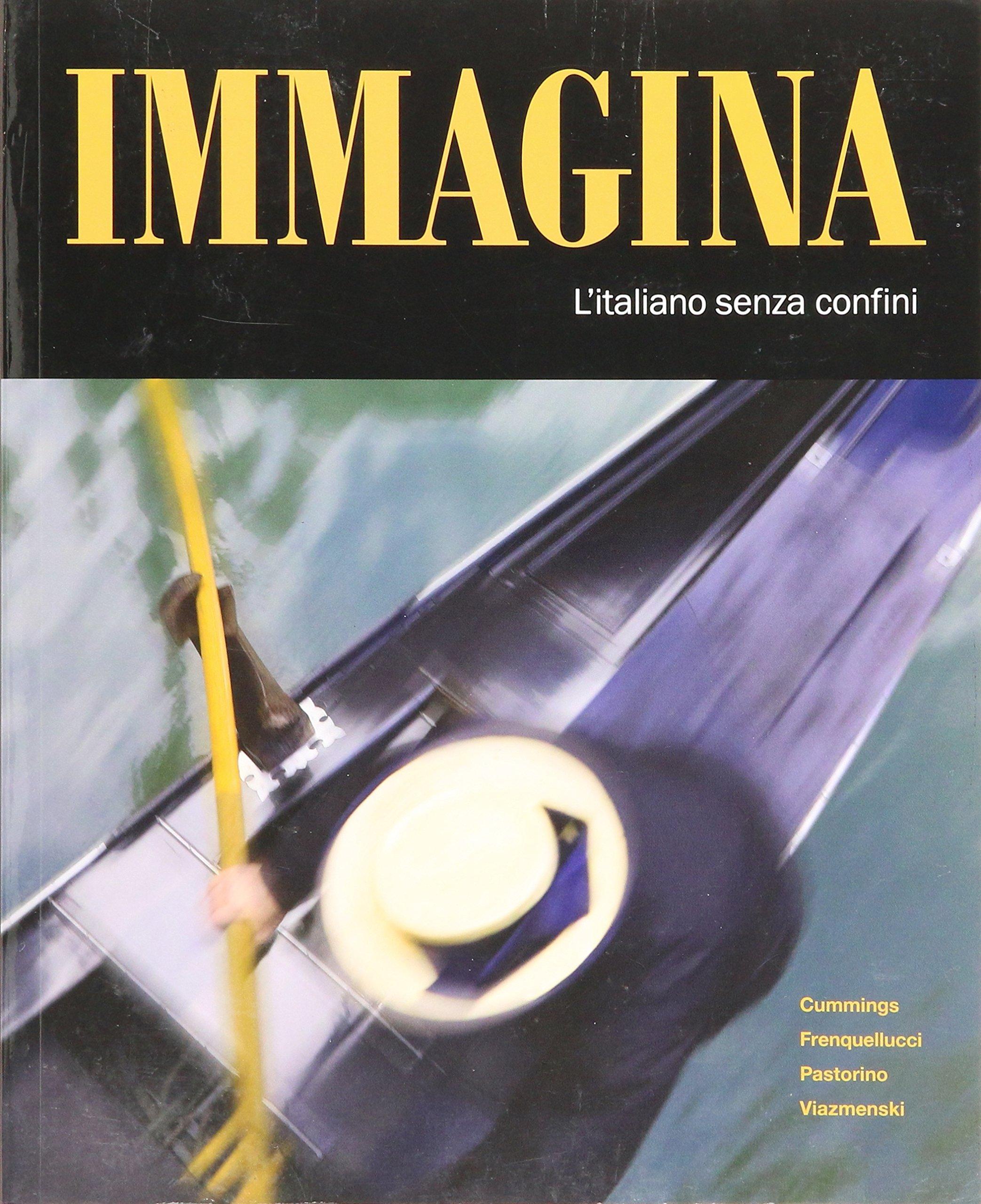 Immagina: l'italiano senza confini pdf epub