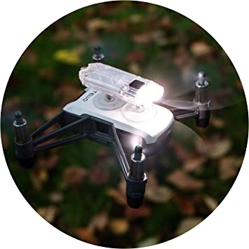 Opinión sobre Robot de Drone Headlight/LED Luz ryze Tello dron Accesorios lámpara – 45 lúmenes hellweiß – drohnen Accesorios (Tello Drone, Funcionamiento Mediante dji)