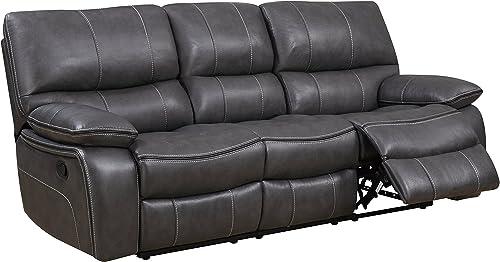 Best living room sofa: Global Furniture Reclining Sofa