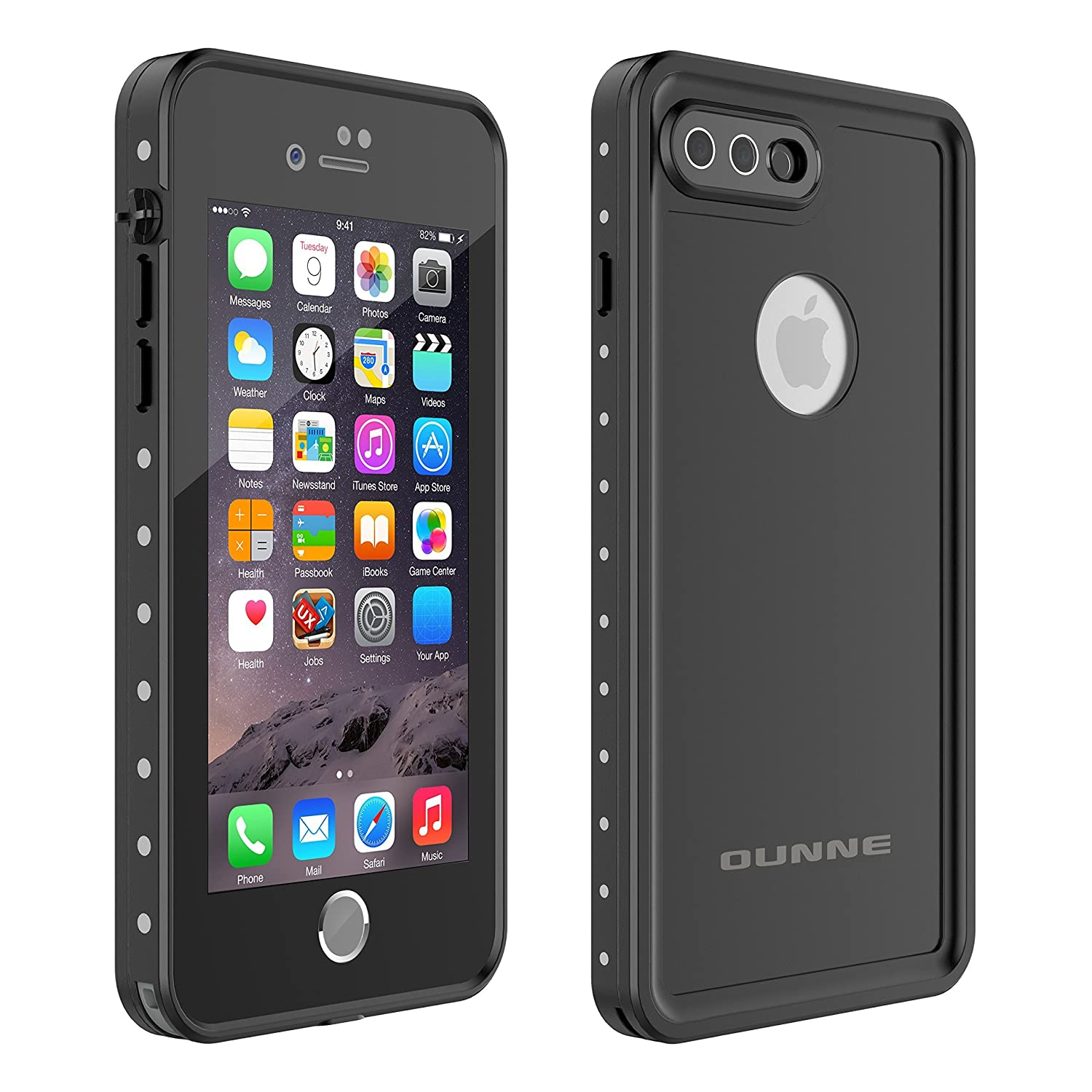 for iPhone 7 Waterproof Case YMCCOOL Underwater Cover Protective